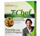Tisanoreica Life - T-Prociutto Chef with Vegetables in season
