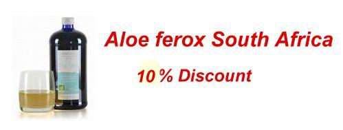 Offer Aloe Feox South Africa - 15% Discount