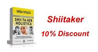 Offer Shiitaker - 15% Discount